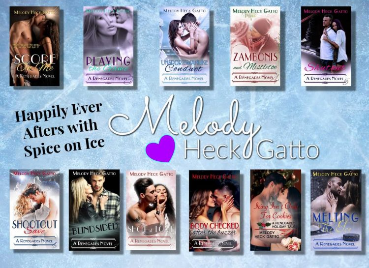 Anyone spending this 4-day weekend reading? Have you checked out my Renegades Hockey Series yet? It&