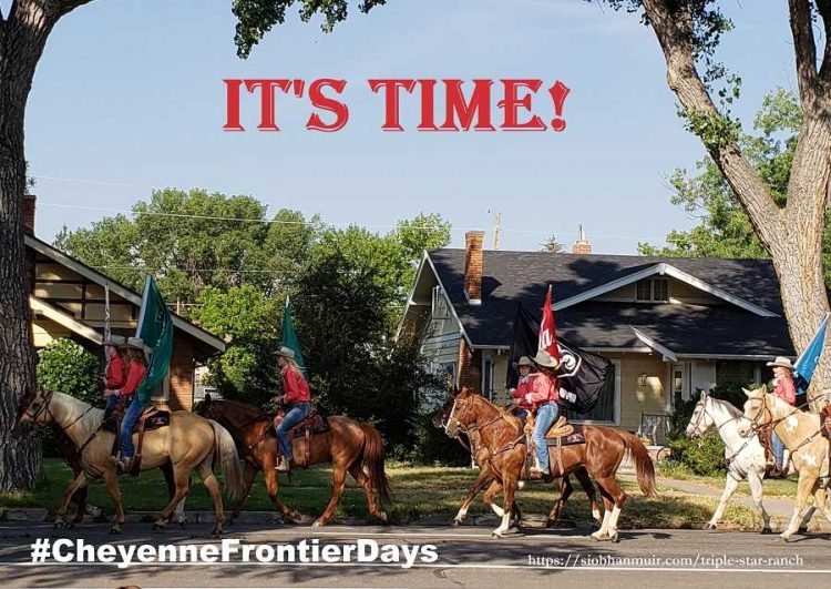 Woohoo! It's time for #CheyenneFrontierDays, the biggest outdoor rodeo in the U.S. That means
