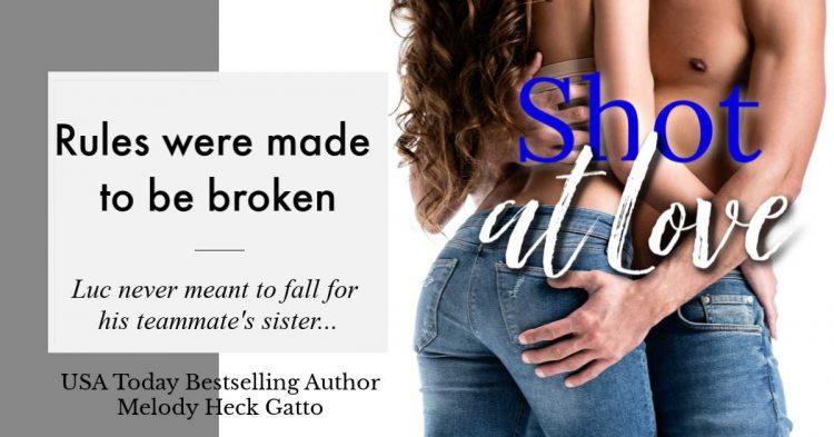 #HockeyRomance #BestFriendsSister #FriendsToLovers Shot At Love – Book 8 in the Renegades Hock